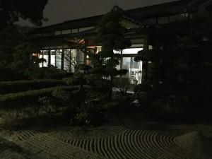 暗くてすみません ホントステキなお寺でした