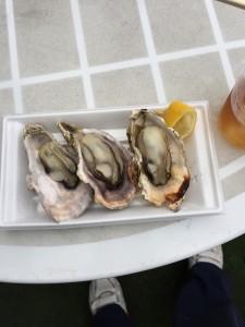 牡蠣は本当にうまい!でもこの日食べたのはホントこれだけです!いやマジで!