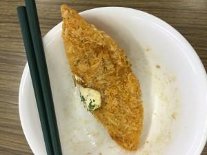 白身魚フライは美味しい
