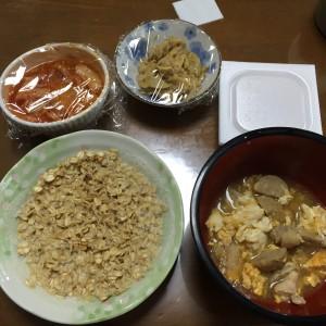 キムチと納豆の組み合わせは最高