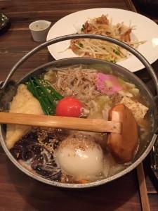 初麺ちゃんこ亭! 野菜たっぷり〜