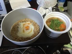 生姜スープは味が薄く感じた